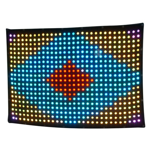 dj equipment P18 led projector led color changing curtain light 7ft by 10ft