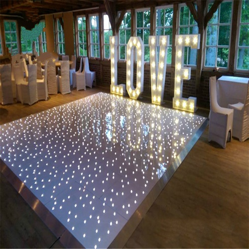 Hot lighting products LED Starlit Dance Floor LED 60*120cm