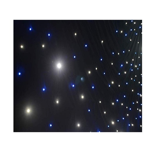 Flyko BW LED hot sale 3M*4M LED star backdrop LED STAR CURTAINS