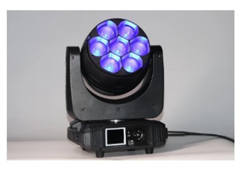 DJ stage mini moving head light beam wash 7pcs 40W RGBW 4-in-1
