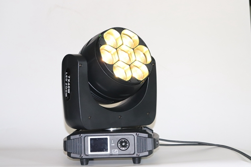stage light 7pcs 40w RGBW4IN1 LED ZOOM BEAM WASH