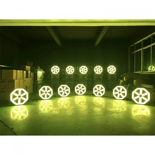 Fan Light Large Lamp Club Disco Fan light Led Disco Backdrop