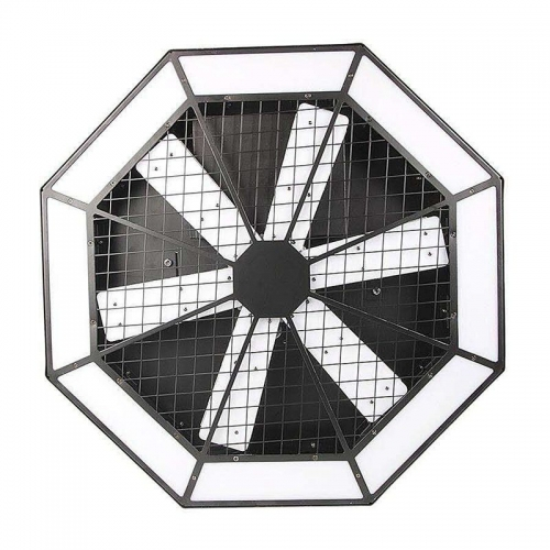Large Lamp Club Disco Fan light Led Disco Backdrop