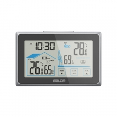 WIRELESS TOUCH SCREEN LCD WEATHER STATION WITH BACKLIGHT