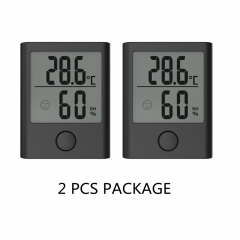 DIGITAL PORTABLE INDOOR THERMO-HYGROMETER(2 PCS KIT)