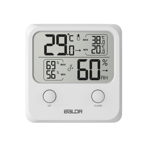 DIGITAL INDOOR THERMO-HYGROMETER