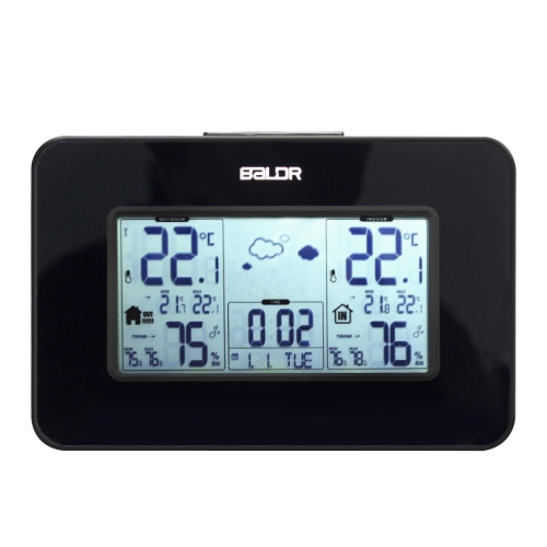 DIGITAL HOME WEATHER STATION WITH BACKLIGHT