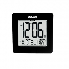 SOFT BLUE BACKLIGHT ALARM CLOCK