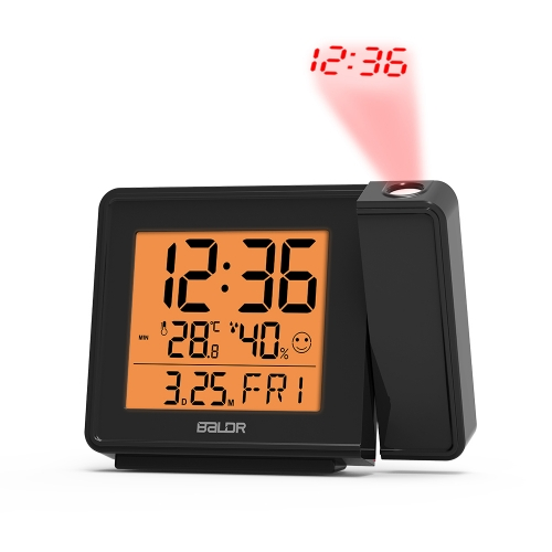 RADIO-CONTROLLED PROJECTION ALARM CLOCK