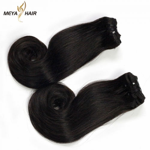 Meya super double drawn egg curl bundle