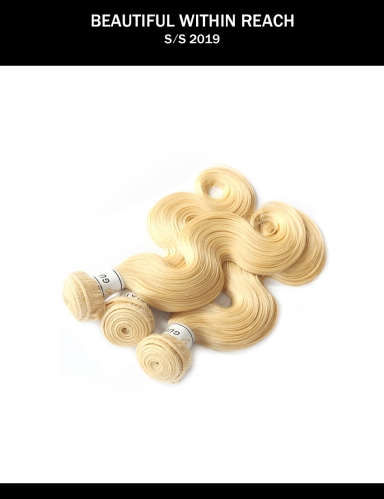 Meya cheap Brazilian cuticle aligned remy human hair bundles 613 virgin hair body wave bundles.