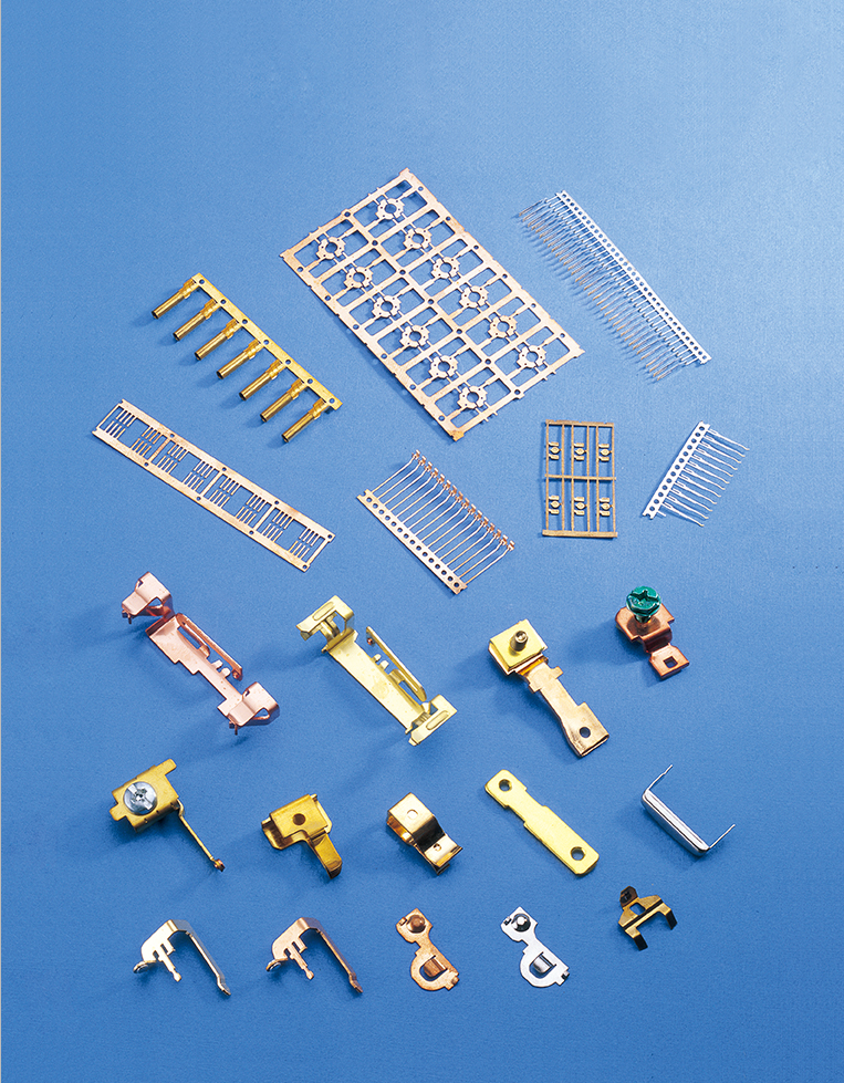 progressive stamping parts