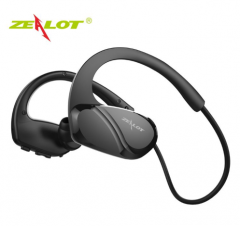 ZEALOT H6 Sport Bluetooth Wireless Earphones IPX5 Waterproof in ear Running Headphones for Gym black