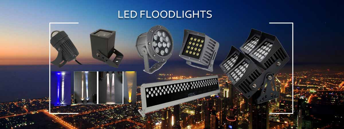 led floodlights - outdoor spot lamps