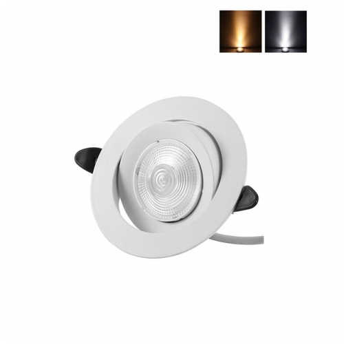 3W/5W/7W AC110V 220V Small White LED Recessed Ceiling Light Spot Lamp Downlight Dimmable