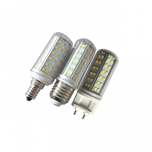 8W AC85-265 G12/E14/E27 SMD2835 LED Bulb Corn Light Lamp Retrofits with Cover Dimmable