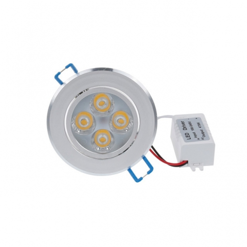 4W AC100V-245V LED Recessed Ceiling Light Dimmable View Angle Adjustable