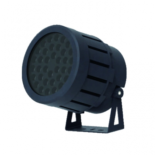144W AC100-240V 2700K-6000K, 144W AC100-240V/DC24V 4in1 RGBW DMX512 LED Floodlight Outdoor Luminaires IP65