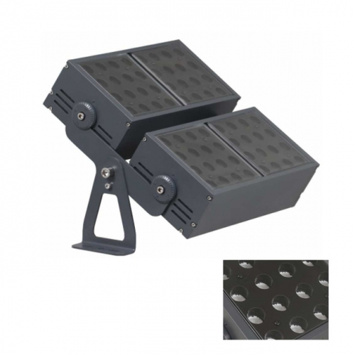 200W AC100-240V Square CREE LED Floodlight Outdoor Luminaires 5/8/15/20/30/45/60 Degrees IP65