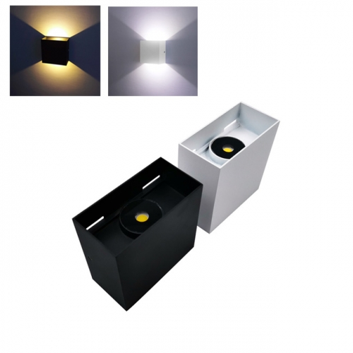 12W AC110V-240V COB LED Outdoor Up and Down Wall Light Waterproof IP65