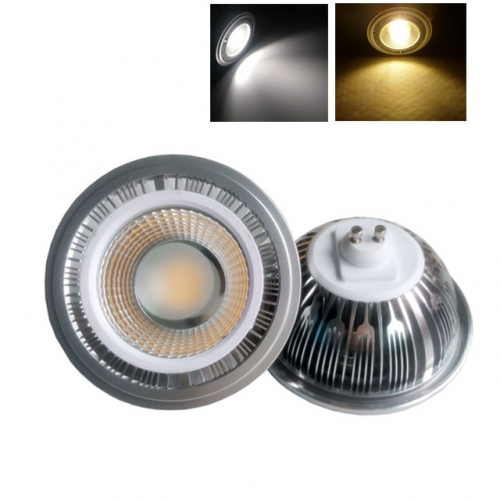 5W/7W/9W/12W/15W AC85-265V AR111 GU10 COB LED Bulb Light Spotlight Dimmable