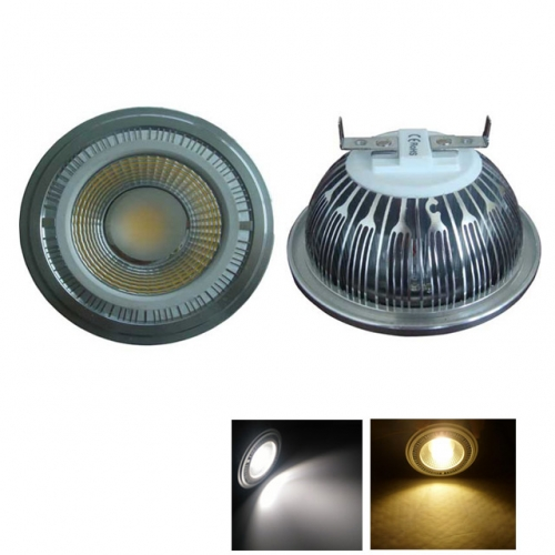 5W/7W/9W/12W/15W AC120-240V/12V AR111 G53 COB LED Bulb Light Spotlight Dimmable