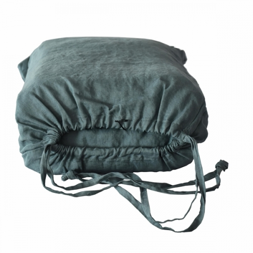 Drawstring bag for packing your linen