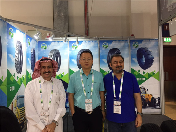 Keluck tyre on Automechanika Dubai