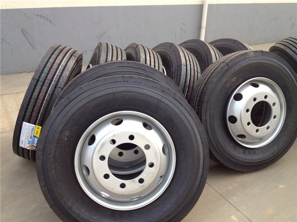 Container loading for truck tires & wheels customers from Philippines