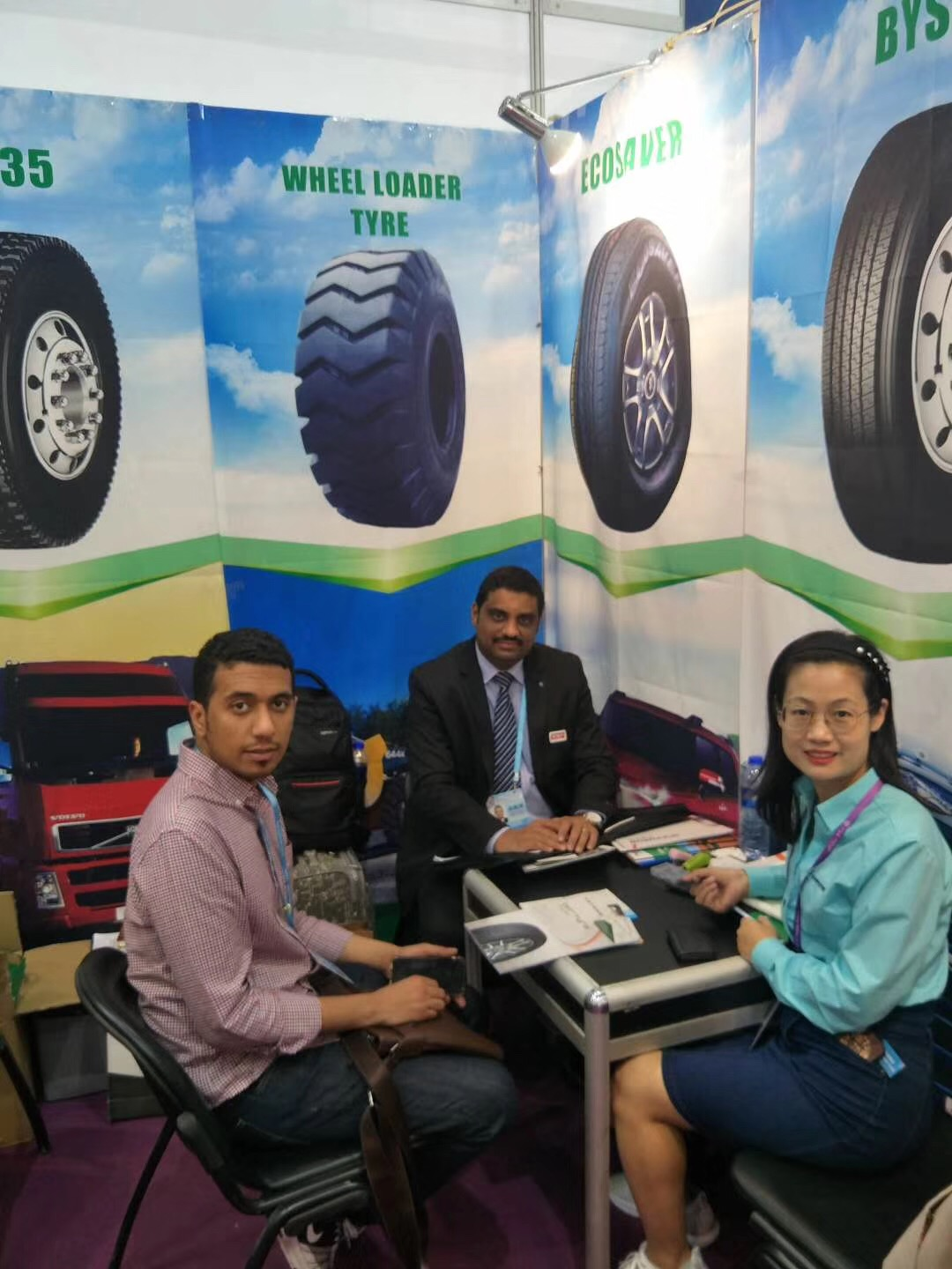 Kelucktyre on SINGAPORE Tyrexpo Asia