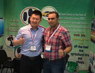 Kelucktyre on PANAMA AutoParts Expo