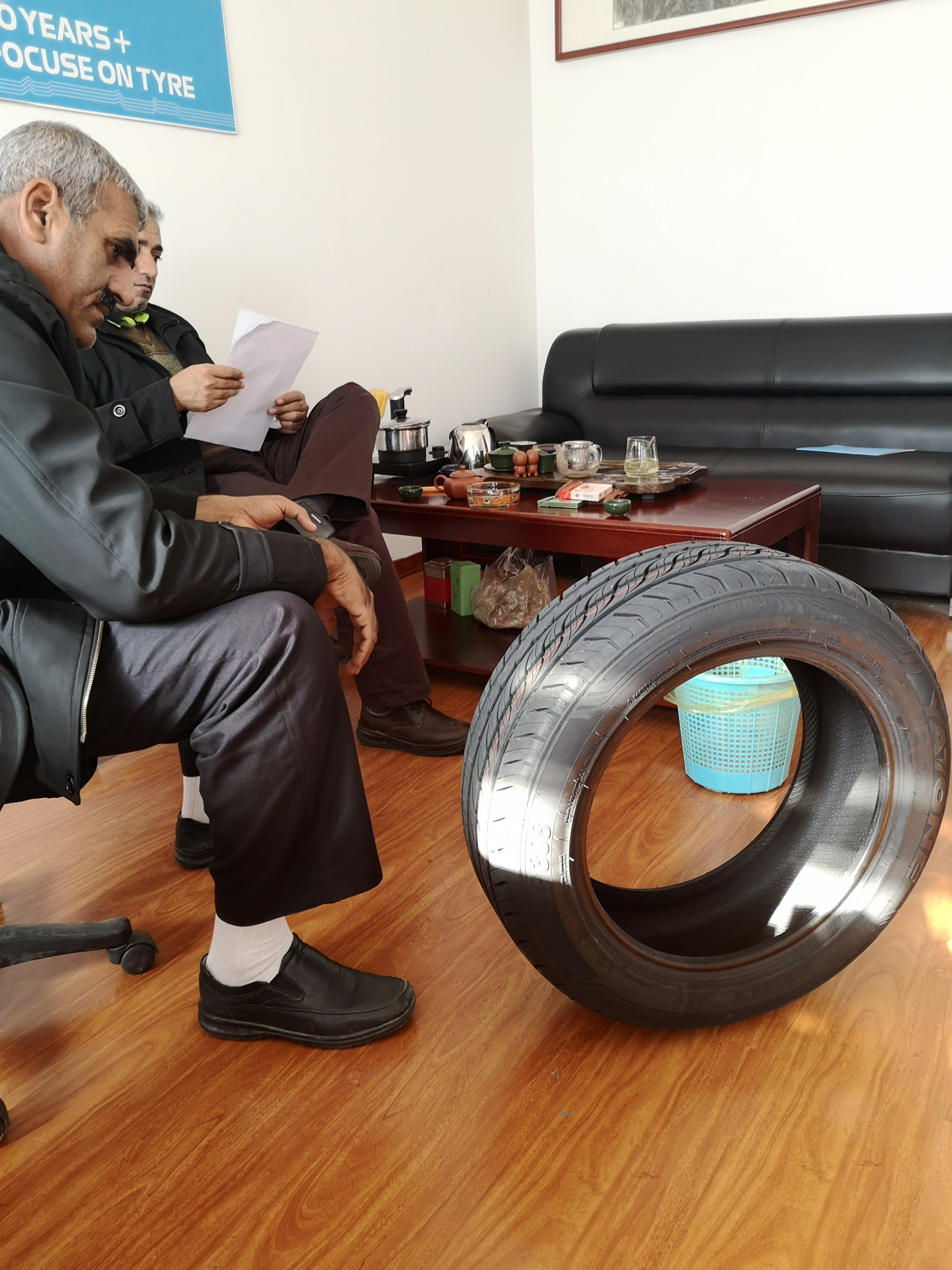 Customers from Iran visit Kelucktyre