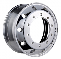 Truck and bus forged aluminum wheels