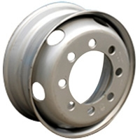 Truck and bus steel wheels