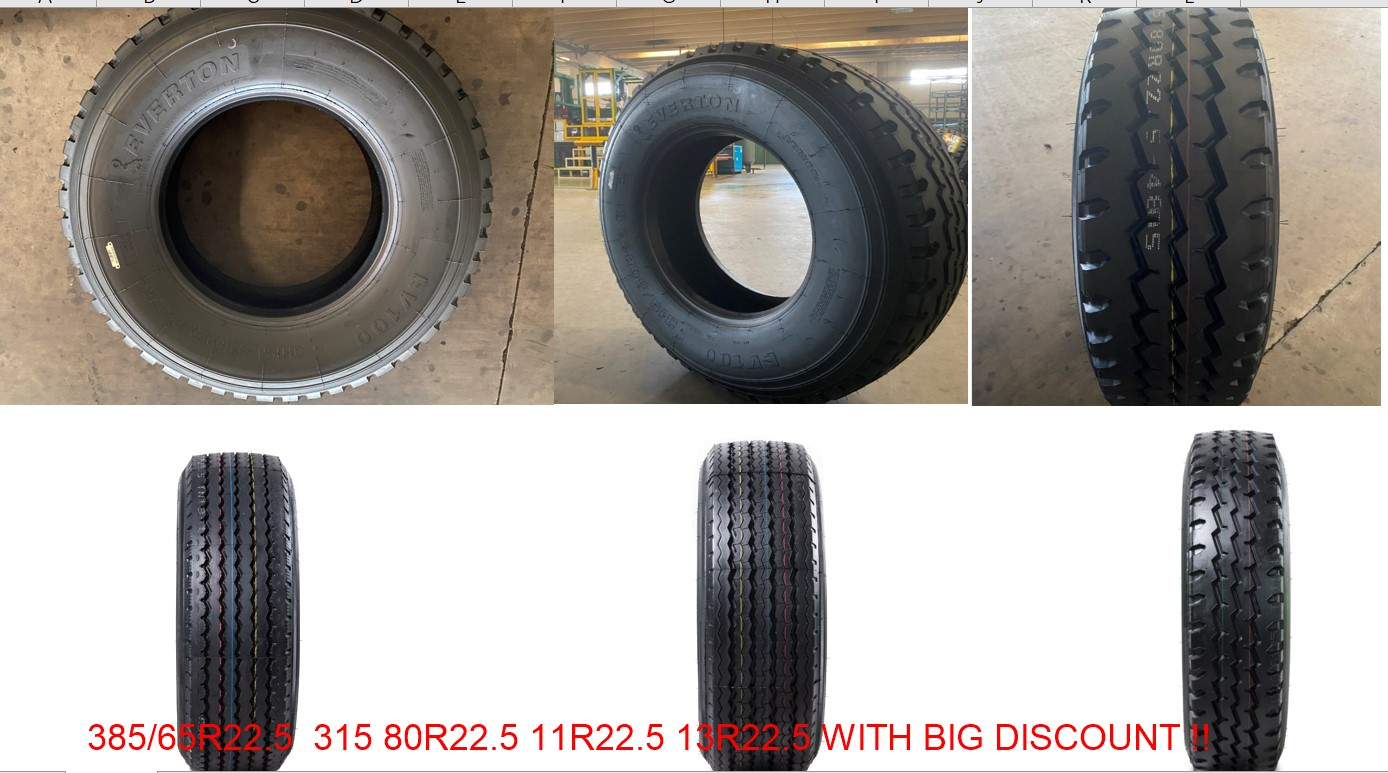 EVERTON TRUCK TYRES WITH BIG DISCOUNT