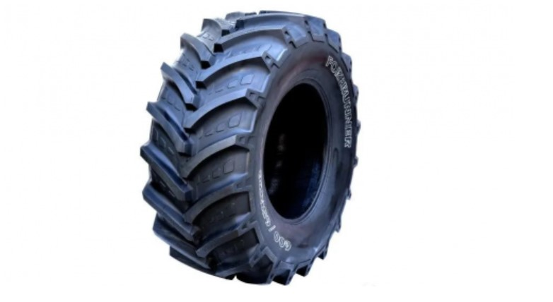 The first agricultural radial tire goes offline