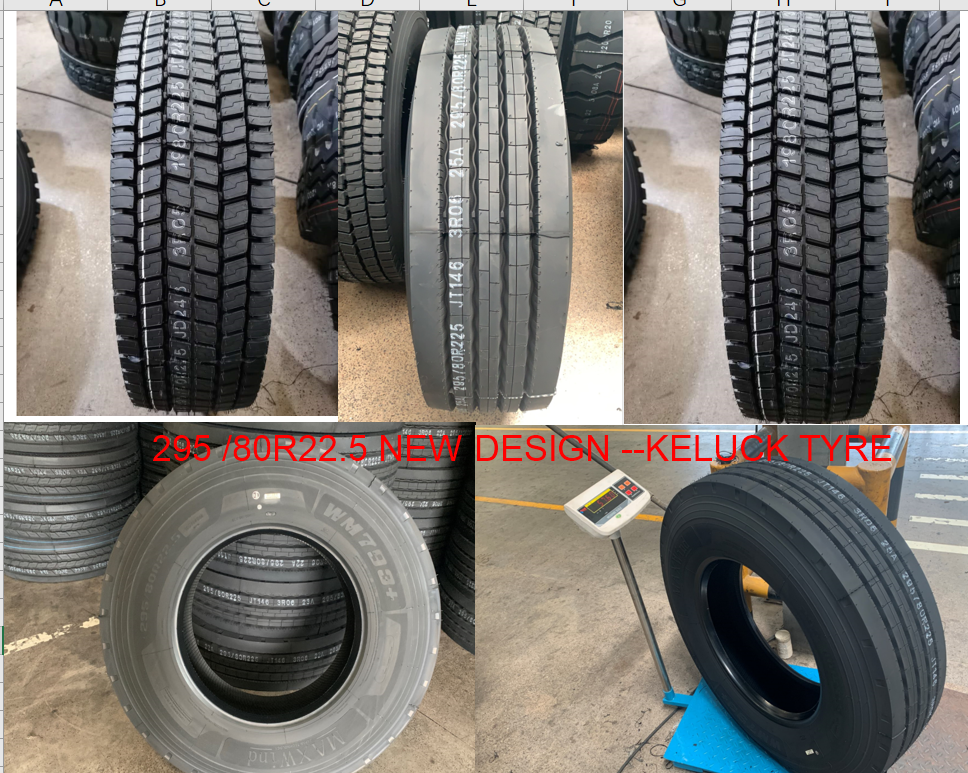 295/80R22.5 NEW DESIGN  -MAXWIND TYRE