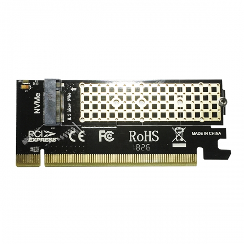GLOTRENDS PA05 M.2 PCIE NVME Adapter Card for PC/2U Hight Server, PCIE GEN3 Full Speed