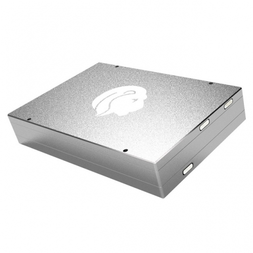 GLOTRENDS Leo 3 in1 SSD Enclosure for M.2 NVME SSD, M.2 SATA SSD and 2.5 inch SATA SSD