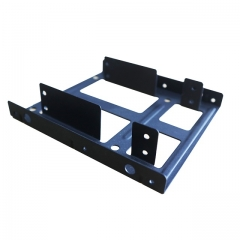 "GLOTRENDS 2-Bay SSD Mounting Bracket for 2.5 to 3.5"" Converter on PC Frame"