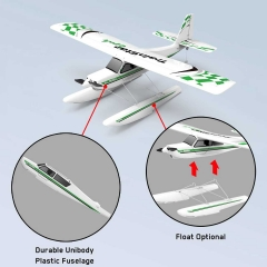TrainStar Epoch 4 channel Airplane with Floats Optional and Strong Blow Plastic Fuselage (747-6) PNP