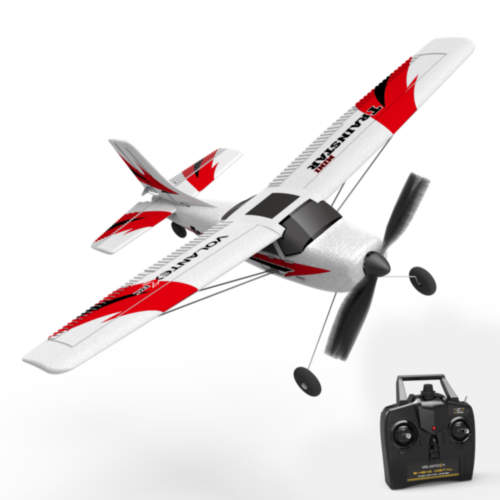 TRAINSTAR Mini Beginner Airplane with Xpilot Gyro System and Geat Box Power System (761-1) RTF