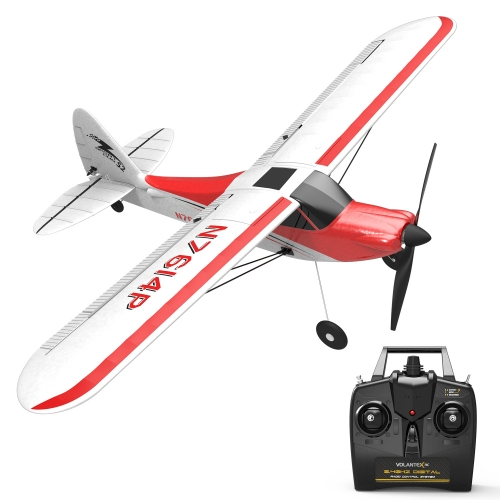 Sport Cub 500 4 Channel Beginner Airplane with 6-Axis Gyro System and One-key U-Turn Aerobatic Function (761-4) RTF