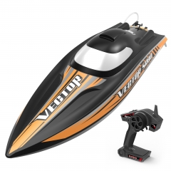 Vector SR80 42mph Super High Speed Boat with Auto Roll Back Function and ABS Plastic Hull (798-4) ARTR