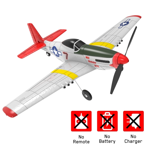 Mustang P-51D 4 Channel Beginner Airplane with Xpilot Stabilizer System and One-key Aerobatic (761-5) PNP