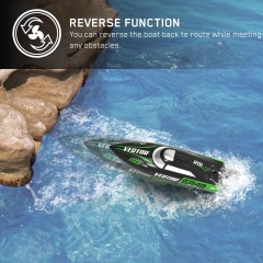 Vector SR48 25mph Super High Speed Boat with Auto Roll Back Function and backward Function (797-3) RTR