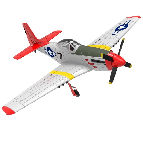 Mustang 4 Channel Beginner Airplane with 6-axies Gyro system and One key U-turn (768-1) PNP