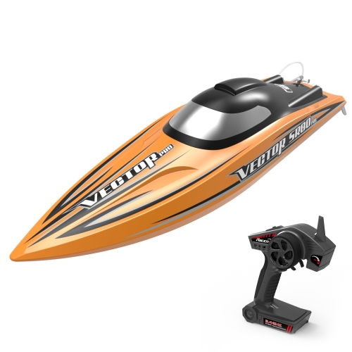 Vector SR80 Pro 46mph Super High Speed Boat with Auto Roll Back Function and All Metal Hardwares (798-4P) ARTR
