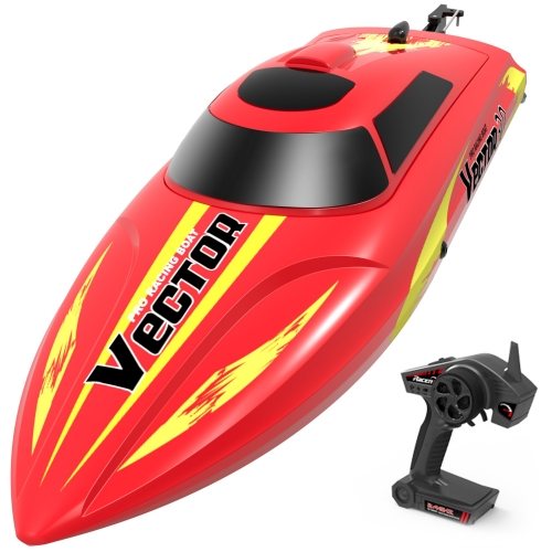 Vector30 Mini Boat with Auto Roll Back Function and backwardFunction (795-3) RTR Red