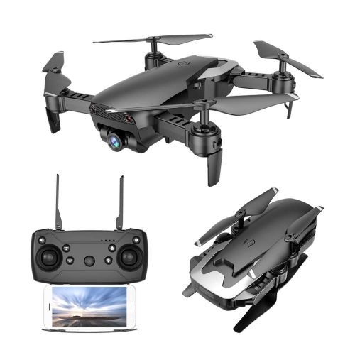 Q1 Foldable FPV Drone 720P HD/APP Control/Altitude Hold/3D Flips/Headless Mode/3 Speeds Mode/One-Key Take-Off & Landing/One Key Return (803-1) RTF